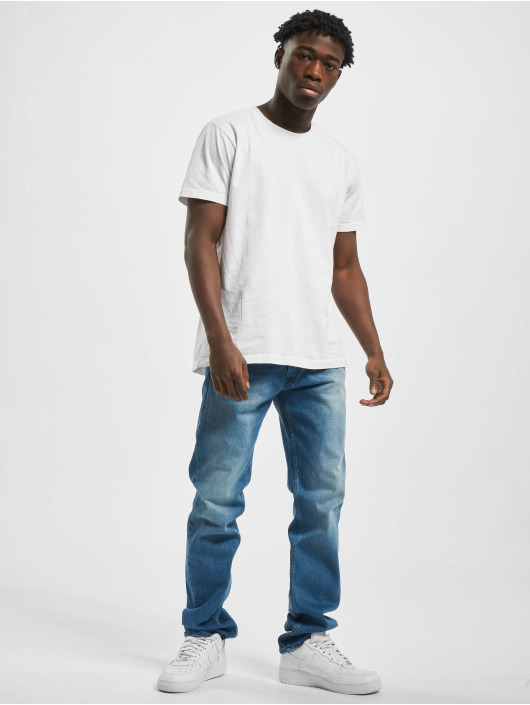 Replay Straight Fit Jeans Denim Grover modrý