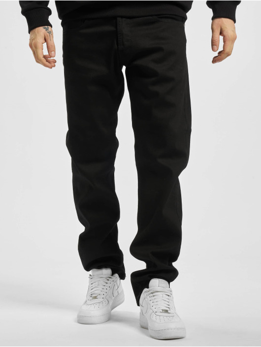 Replay Straight Fit Jeans Grover schwarz