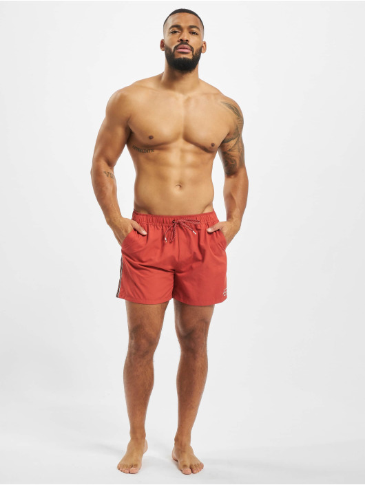 Revolution Badeshorts Stripe red