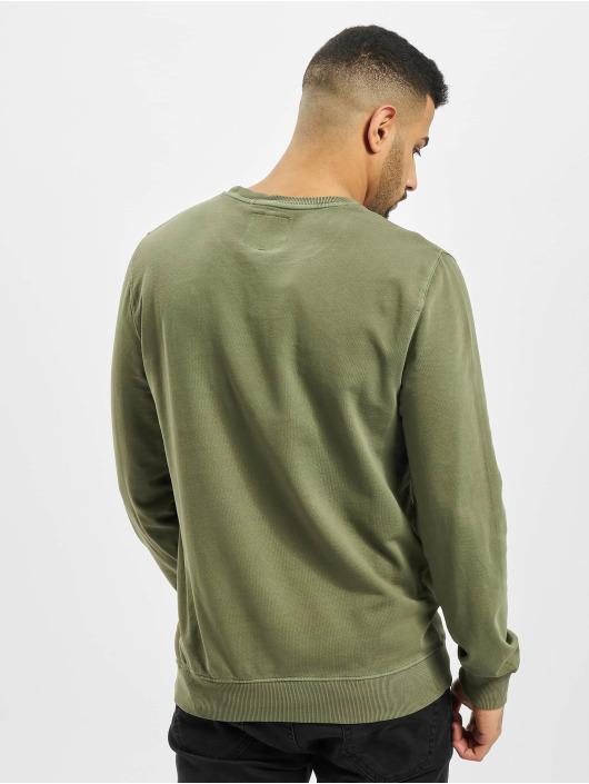Revolution Jersey Garment Dyed oliva