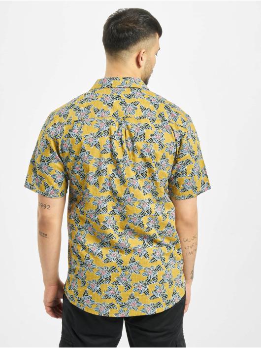 Revolution overhemd Infloral Print geel