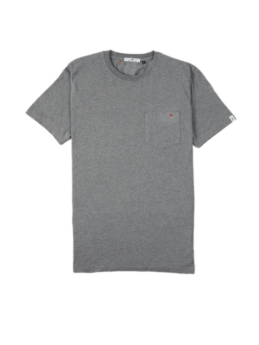 Revolution T-Shirt Sverre grau