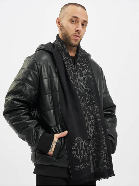 Roberto Cavalli Шарф / платок 2 Tone черный
