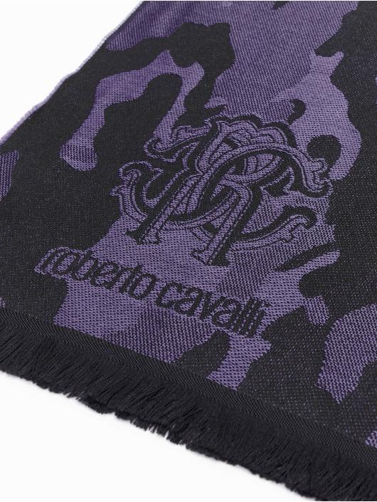 Roberto Cavalli Scarve Camo black