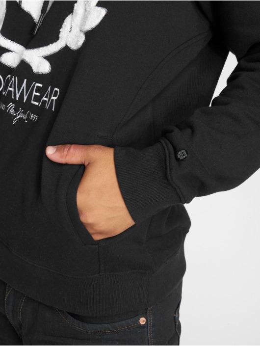 Rocawear Bluzy z kapturem RW Kranz H czarny