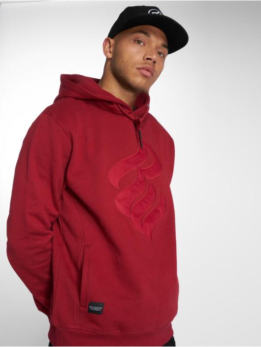 Rocawear Bluzy z kapturem Logo Stich czerwony
