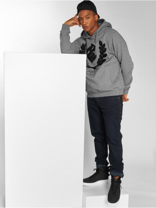 Rocawear Bluzy z kapturem RW Kranz H szary