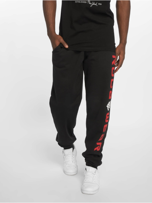 Rocawear Jogginghose Basic Fleece schwarz