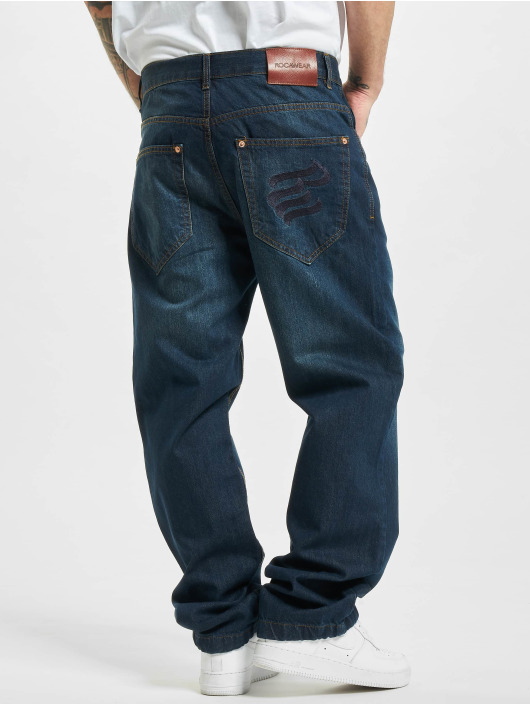 Rocawear Loose Fit Jeans WED Loose Fit niebieski