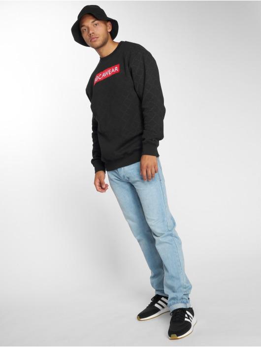Rocawear Pullover Checked schwarz