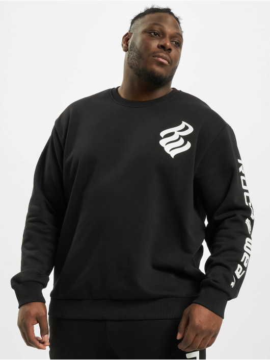 Rocawear Pullover Big Printed schwarz