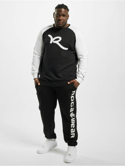 Rocawear Pullover Big Raglan schwarz
