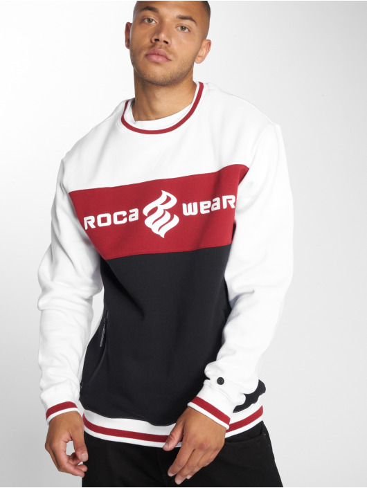 Rocawear Pullover 3 Tone weiß