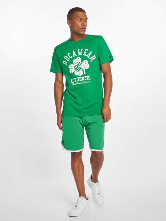 Rocawear Shorts Fleece grün