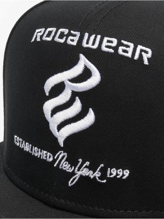 Rocawear Snapback Caps Tuan svart