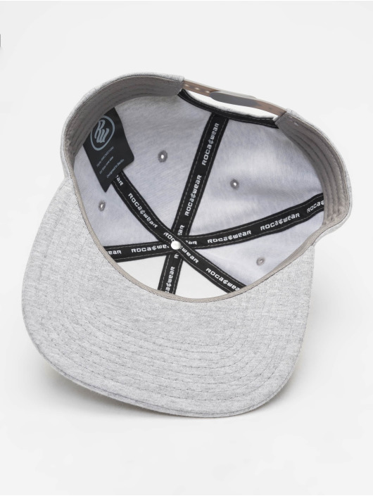 Rocawear Snapback Caps Nam szary
