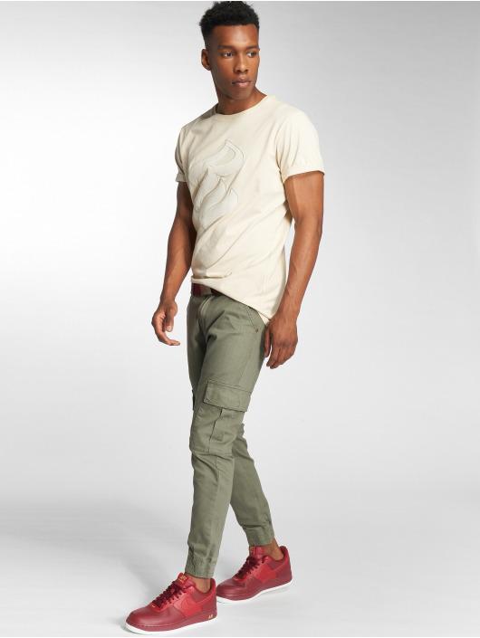Rocawear Spodnie Chino/Cargo Cargo Fit oliwkowy