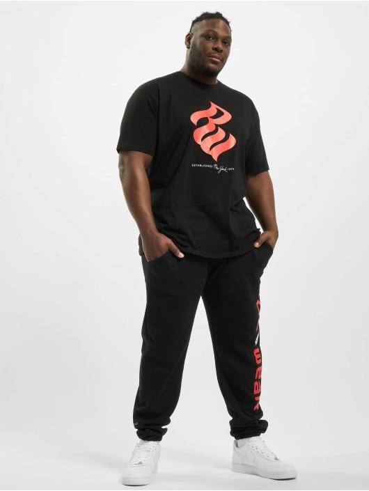 Rocawear Spodnie do joggingu Big Basic Fleece czarny