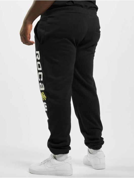 Rocawear Spodnie do joggingu Big Basic czarny