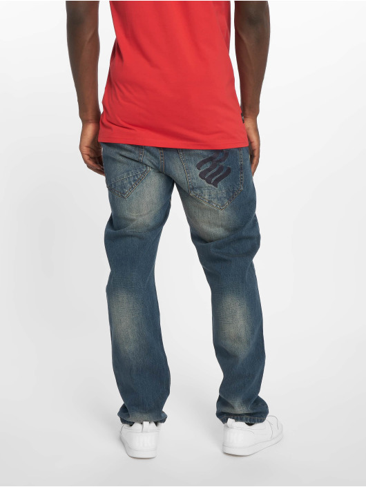 Rocawear Straight Fit Jeans MON Tony blå