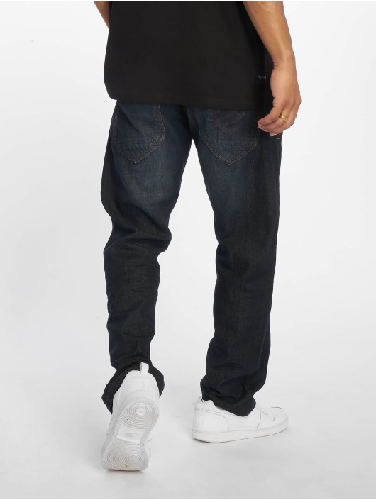 Rocawear Straight fit jeans MON Tony blauw