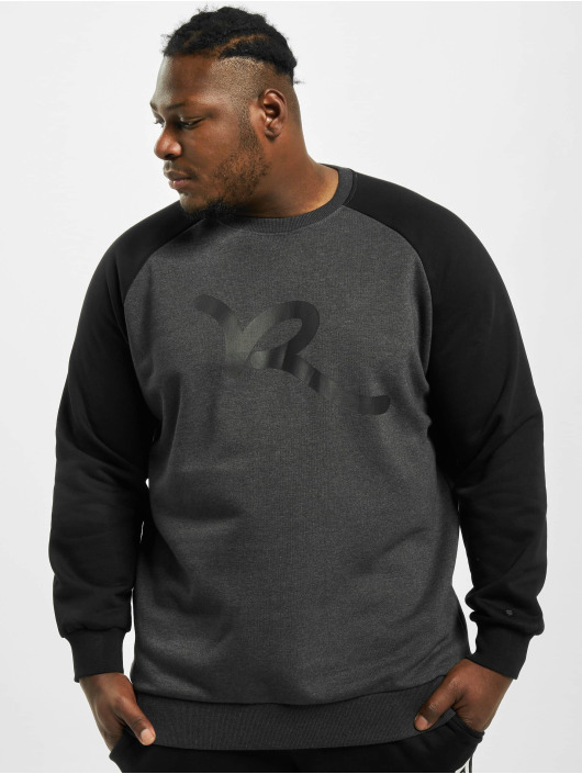 Rocawear Sweat & Pull Big Raglan gris