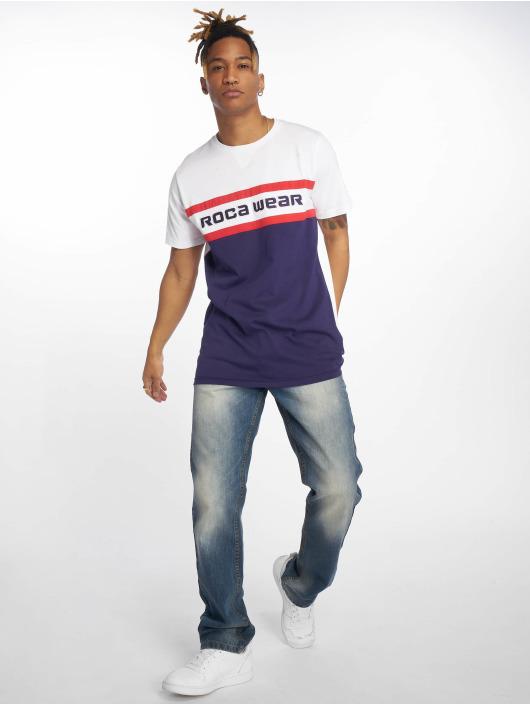 Rocawear T-Shirt redstripe blau