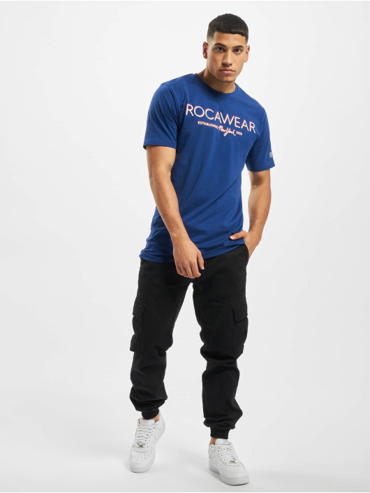Rocawear T-Shirt Neon blau