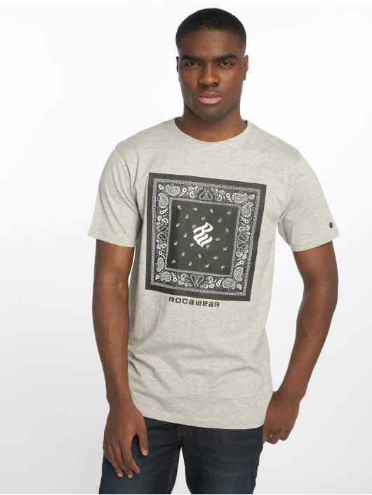 Rocawear T-Shirt Bandana grau