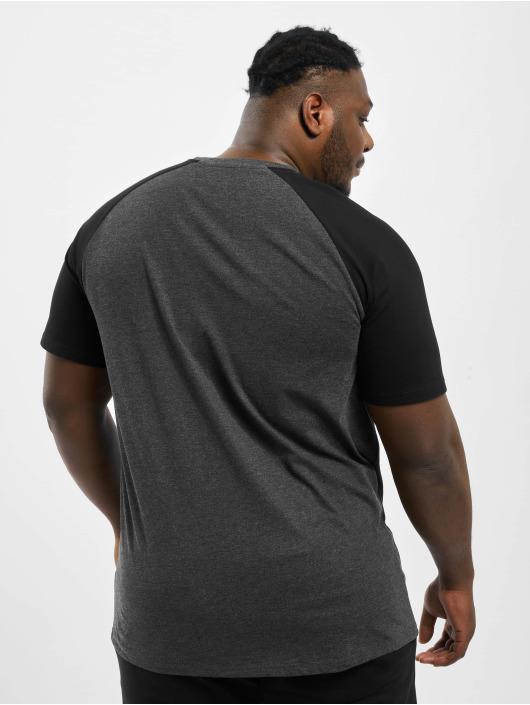 Rocawear T-Shirt Big Raglan grau