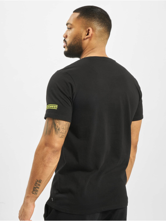 Rocawear T-shirt Neon nero