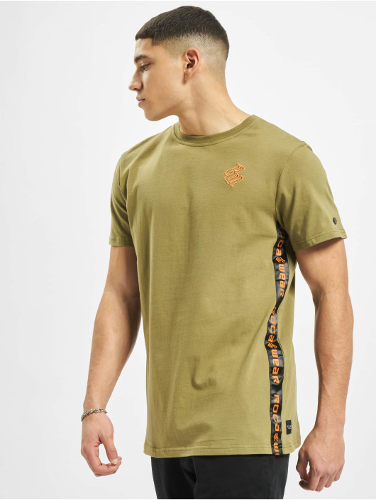 Rocawear t-shirt Smith olijfgroen