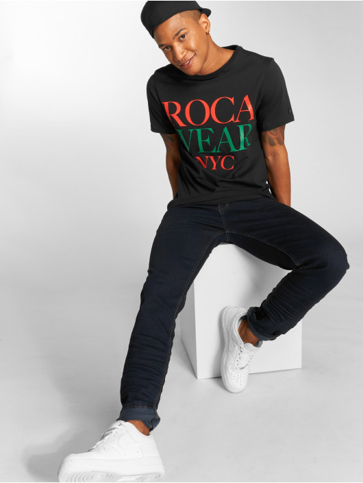 Rocawear T-Shirt NYC schwarz