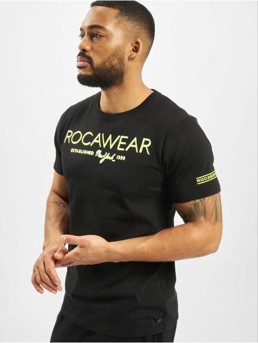 Rocawear T-Shirt Neon schwarz