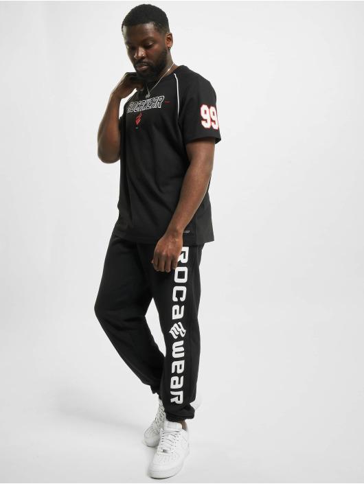 Rocawear T-Shirt Rego schwarz