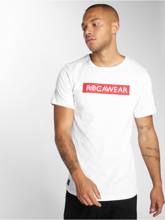 Rocawear T-Shirty BrandLogo bialy