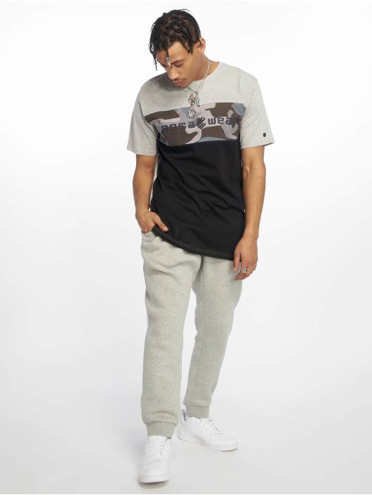 Rocawear T-Shirty Camo Block czarny