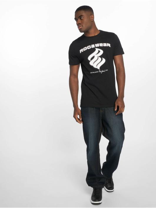 Rocawear T-Shirty DC czarny