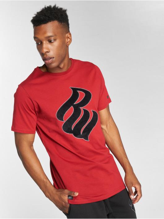 Rocawear T-Shirty Velvet Logo czerwony
