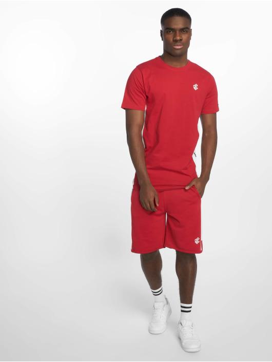 Rocawear T-Shirty Double Logo czerwony