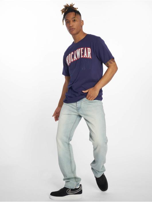 Rocawear T-Shirty Brooklyn niebieski