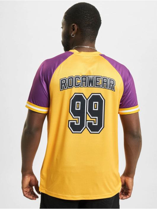 Rocawear T-Shirty Sunset zólty