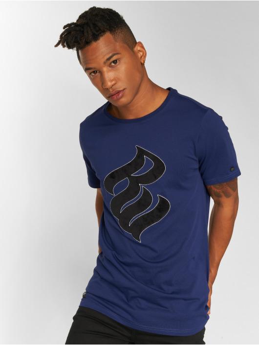 Rocawear T-skjorter Velvet Logo blå