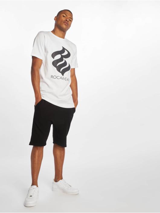 Rocawear T-skjorter Logo hvit