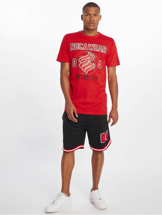 Rocawear T-skjorter Authentic red