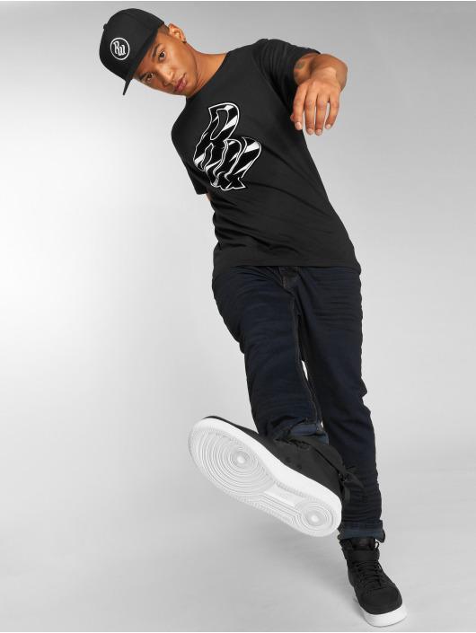 Rocawear T-skjorter RW Zebra S svart