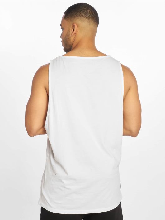 Rocawear Tank Tops Basic bialy