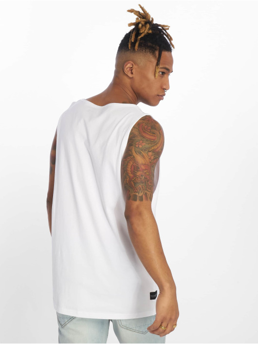 Rocawear Tank Tops Camo bialy
