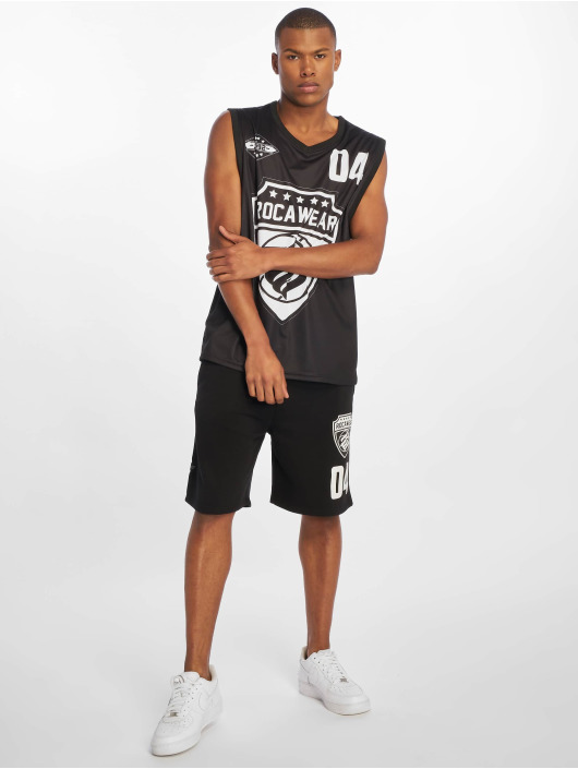 Rocawear Tank Tops Four black
