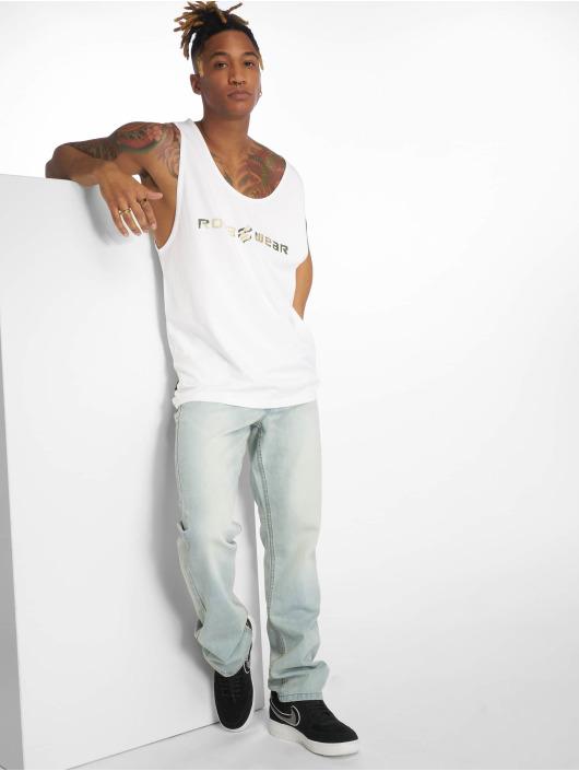 Rocawear Tank Tops Camo hvit